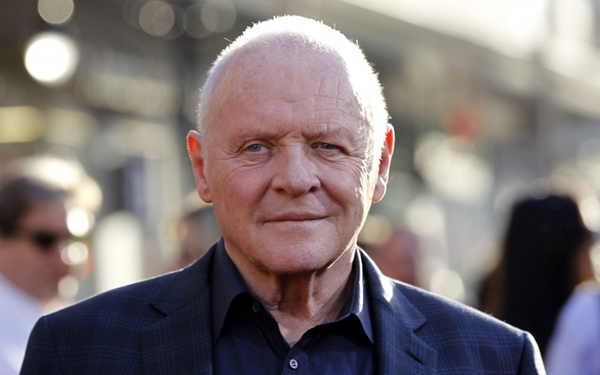 Anthony Hopkins, patient of Los Angeles celebrity dentist Dr. Bill Dorfman