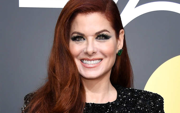Debra Messing, patient of Los Angeles celebrity dentist Dr. Bill Dorfman