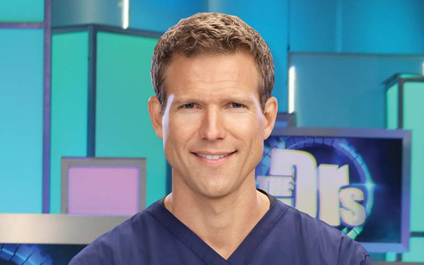 Travis Stork, patient of Los Angeles celebrity dentist Dr. Bill Dorfman